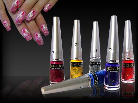 Лак для дизайна ногтей FIONA
